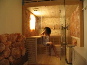 ontspannen in een prive sauna